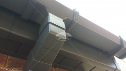 UPVC colour coated fascia soffit square guttering