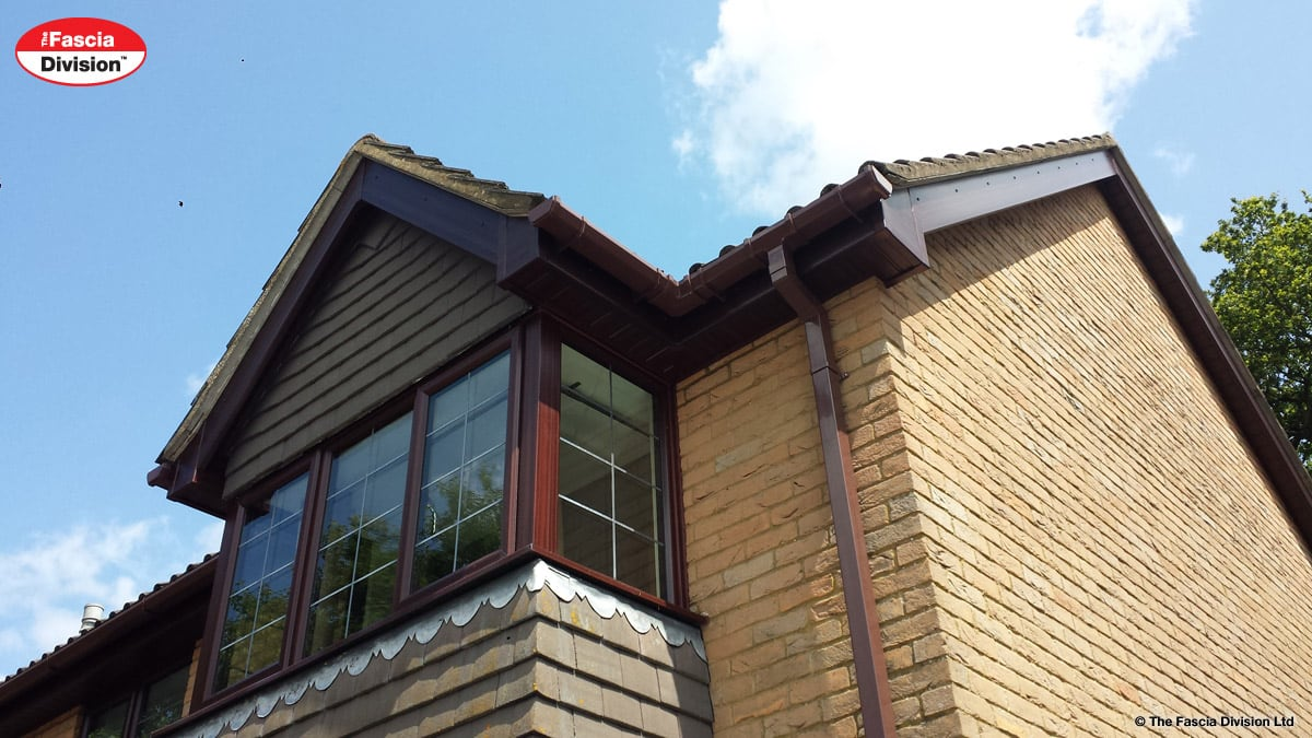Fascias soffits guttering replaced by The Fascia Division
