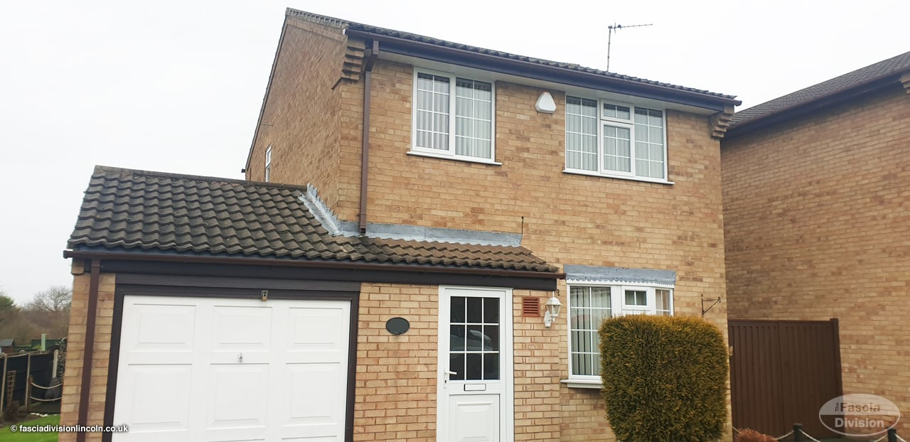 fascias soffits replacement near Lincoln